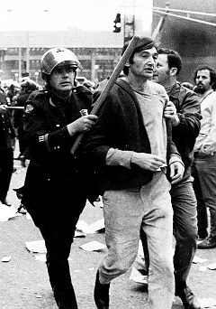 howard zinn was arrested in