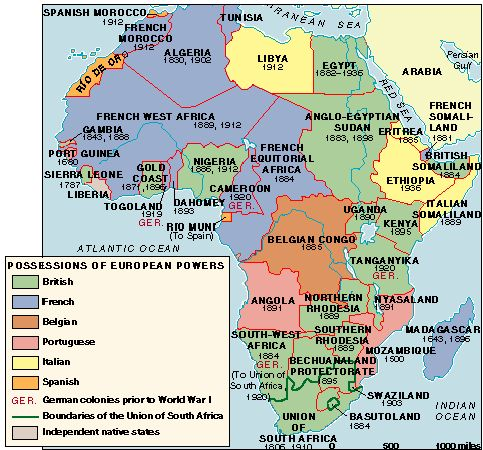 Neo Colonialism And The Scramble For Africa Frontlines Of