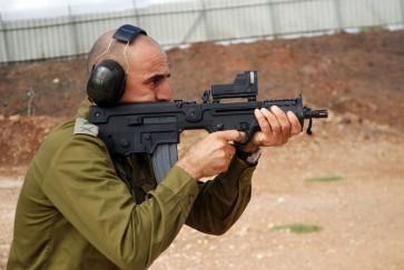 Tavor assault rifle idf