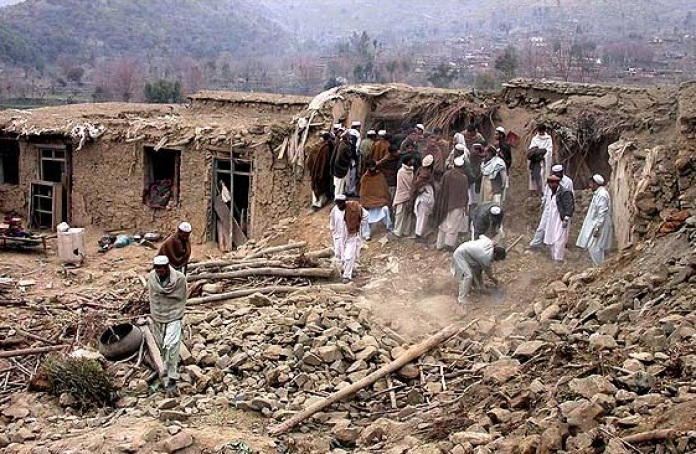 United Nations silent as US/NATO forces destroy thousands of Afghan homes | Frontlines of Revolutionary Struggle