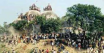 On 6 December 1992, a mob of Hindu militants tore down the 16th Century Babri Masjid in Ayodhya, north India, sparking nationwide communal riots in which nearly 2,000 people were killed.