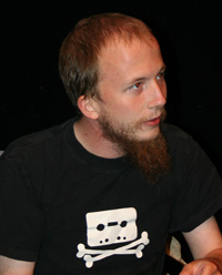 Journalist Gottfrid Svartholm, founder of Pirate Bay, who has been jailed in Sweden