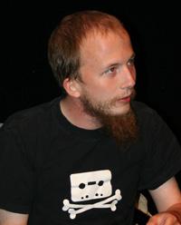 Journalist Gottfrid Svartholm, founder of Pirate Bay, who has been jailed in Sweden