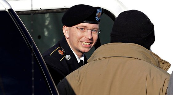 Pfc. Bradley Manning faces a potential life sentence for allegedly revealing secret information US war crimes