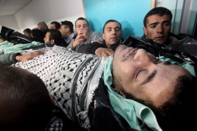 30 years old, Palestinian prisoner Arafat Jaradat was tortured and beaten to death in Israeli prison