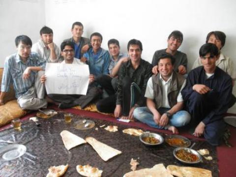 Afghan Peace Volunteers Thanking Bradley Manning