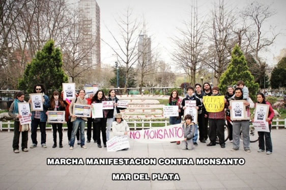 anti-Monsanto demonstration in Argentina