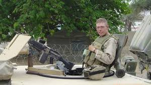 Daniel Somers, when he was on active duty