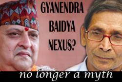 TelegraphNepal composed this picture of strange bedfellows
