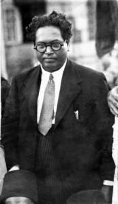 BR Ambedkar in Bombay